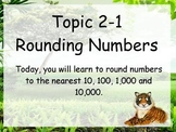 ActivBoard Smartboard Flipchart: Round to the Nearest 10,