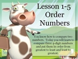 ActivBoard or Whiteboard Lesson: Order Numbers to the Hund