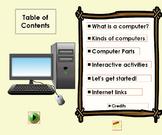 ActivInspire Flipchart Parts of a Computer Flipchart and P