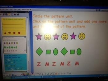 Math Patterns and Pattern Units - grades Pre-K - 1 CCSS