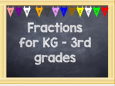 ActivInspire - Fractions from KG to 3rd Grade