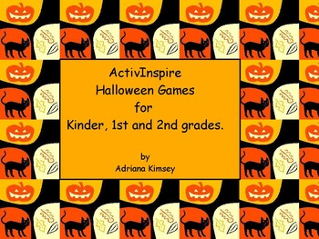 ActivInspire Halloween Activites, Crafts & Sight Words Games Bundle