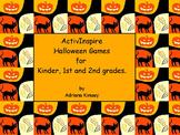 ActivInspire Halloween Activites, Crafts & Sight Words Gam