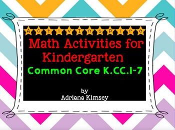 ActivInspire Math Common Core K.CC.1-7