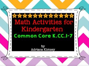 ActivInspire Math Common Core K.CC.1-7