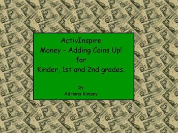 ActivInspire - Money!!! Adding Coins Up!!!