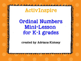 ActivInspire - Ordinal Number with ActiVotes Questions