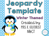 ActivInspire Promethean Jeopardy Template Winter Themed
