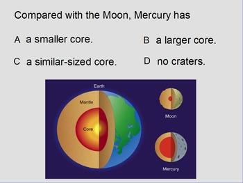 "ActivInspire Review Unit IV Lesson I ""Mercury & Venus"""