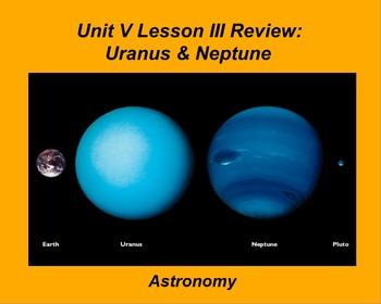 "ActivInspire Unit V Lesson III  ""Uranus & Neptune"" Review"