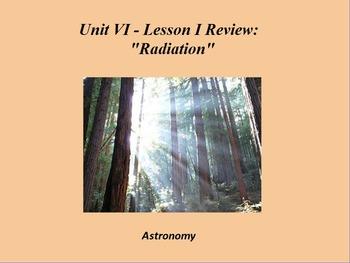 "ActivInspire Unit VI Lesson I Review ""Radiation"""