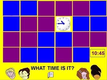 """ActivInspire - What Time Is It? Game"" FREEBIE"