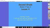 Eureka Math 2nd Grade Module 4 Topic A Lessons 1-5 Bundle