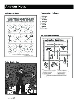 Activate! Winter Worksheets