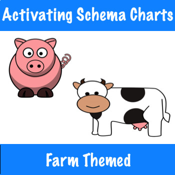 Activating Schema with Can/Have/Are Charts - Farm Themed!