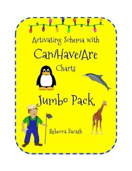 Activating Schema with Can/Have/Are Charts - Jumbo Pack!