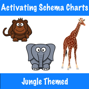Activating Schema with Can/Have/Are Charts - Jungle Themed!