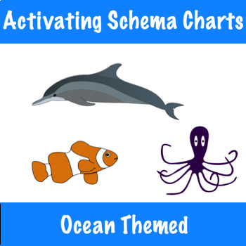 Activating Schema with Can/Have/Are Charts - Ocean Themed!