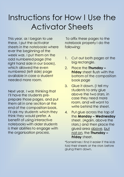 Activator Template