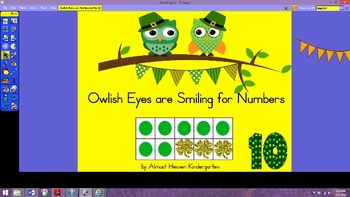 Activboard: Owlish Eyes Are Smiling for Numbers 1-10