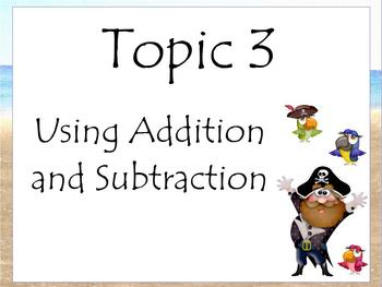 Activboard Smartboard Flipchart Using Addition & Subtraction