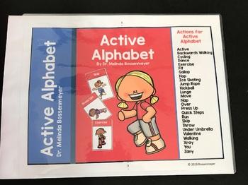 Active Alphabet Movement Card Set