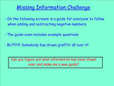 Active Assessment Task - Integers