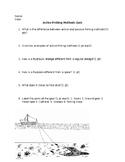 Active Fishing Methods Quiz