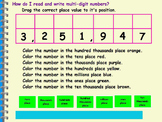 Active Inspire Place Value NBT.2 - Reading & Writing Numbe