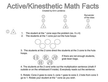 Active/Kinesthetic Math Facts