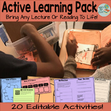 Active Learning Pack Transform Lectures and Readings