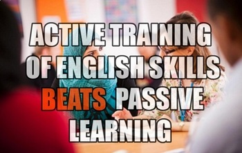 Active Learning of English skills