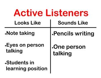 Active Listener Poster