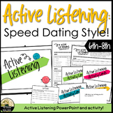 Active Listening & Attentive Body Language Class Lesson and Activity