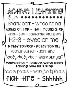Active Listening Callbacks
