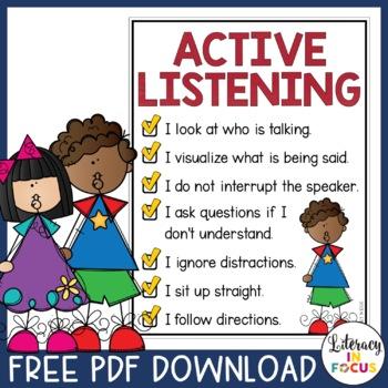 Active Listening Checklist