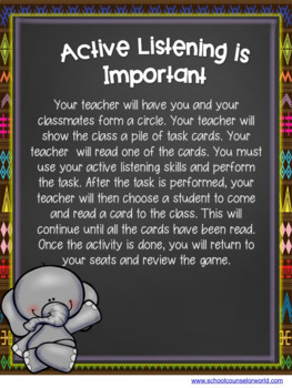 A Guidance Lesson on Active Listening, Grades 2-3
