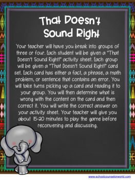Active Listening Guidance Lesson for Grades 4-6