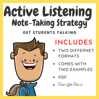 Active Listening Note Taking Strategy