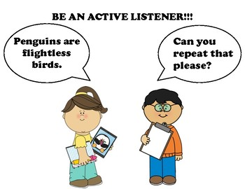 Active Listening Posters