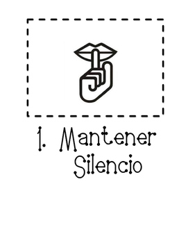 Active Listening Posters in Spanish