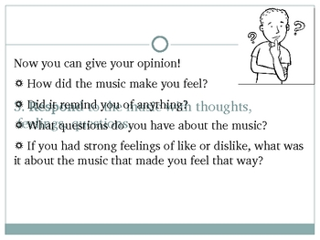 Active Listening to Music Powerpoint version