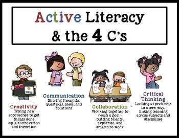 Active Literacy & the 4 C's