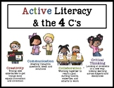 Active Literacy & the 4 C's