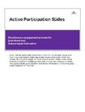 Active Participation Slides