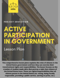 Active Participation in Government Lesson Plan