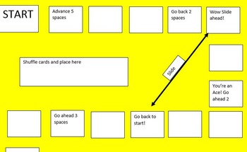 File Folder Game: Active Passive Review Game