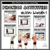 Kindergarten Phonics Activities | Movement-Based Learning