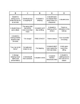 Active Proctoring Bingo