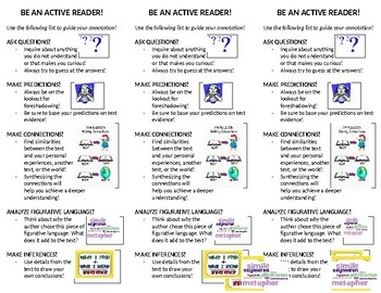 Active Reader Bookmarks